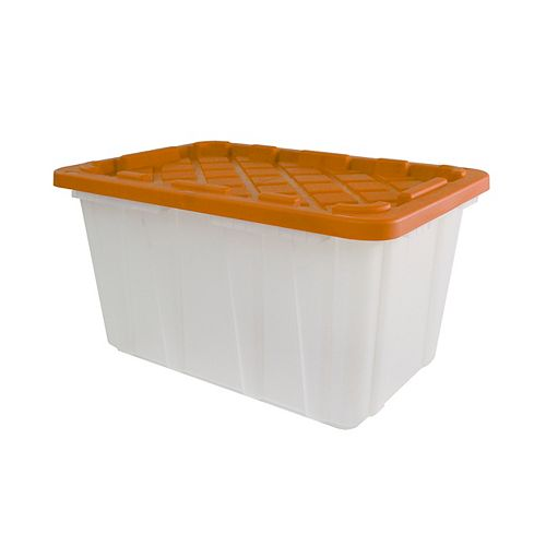 102L Strong Box - Frosted/Orange