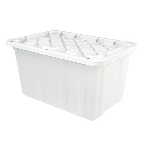 102L Strong Box - Frosted/White
