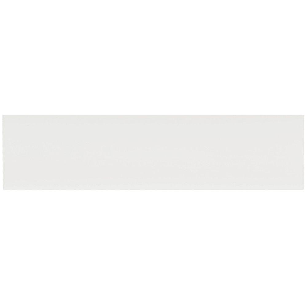 Eurostyle Façade Tiroir Mélamine Alexandrie 30 x 7 1/2 Blanc