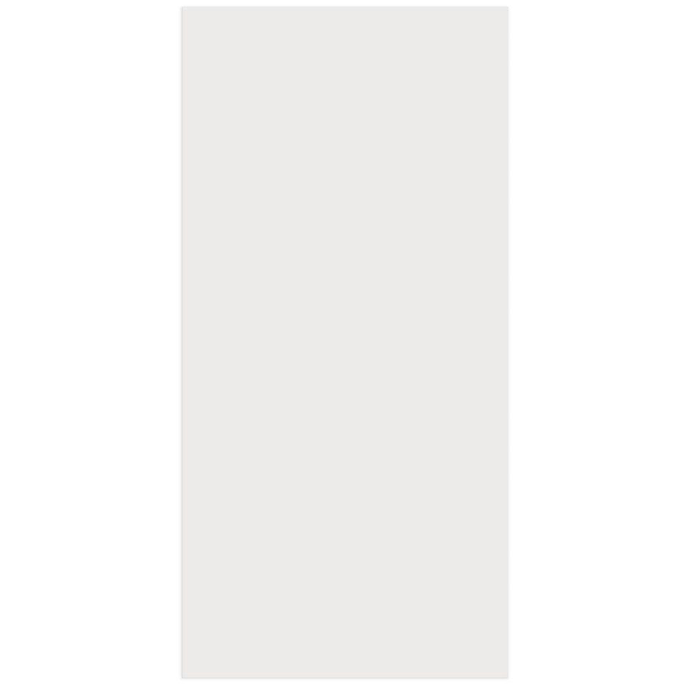 Eurostyle Porte Mélamine Alexandrie 15 x 30 1/8 Blanc