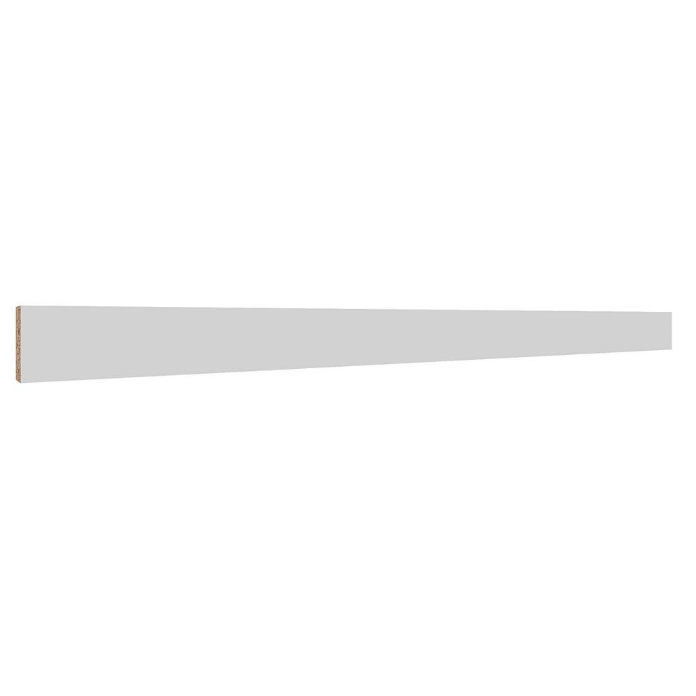 Eurostyle Toe Kick Melamine 4 x 93 White