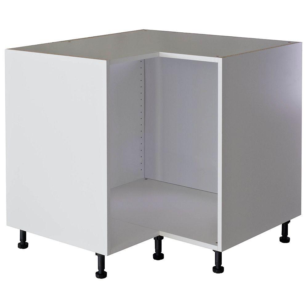 Eurostyle Base Corner Cabinet 36 White