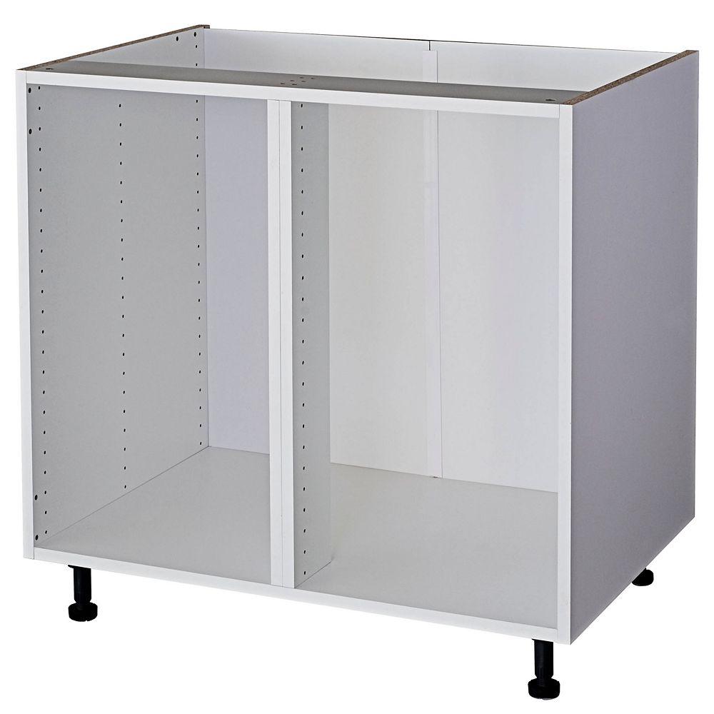 Eurostyle Corner Base Cabinet, White