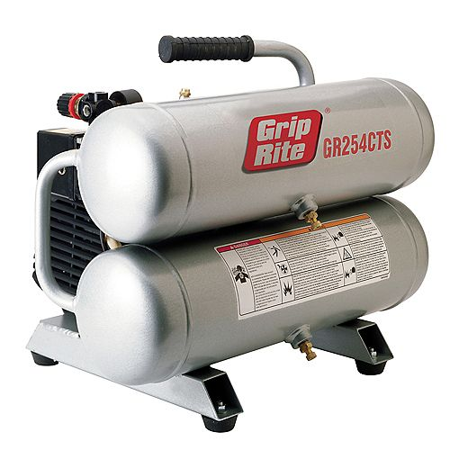4.3 Gal. Twin Stack Portable Electric Compressor