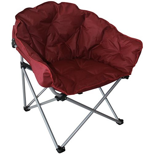 Padded Outdoor Club Chair