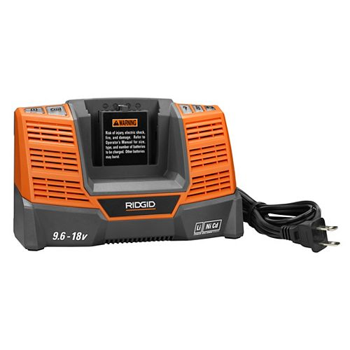 18V Dual Chemistry Charger