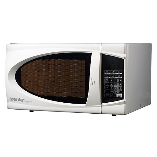1.1 Cubic Feet Microwave - White