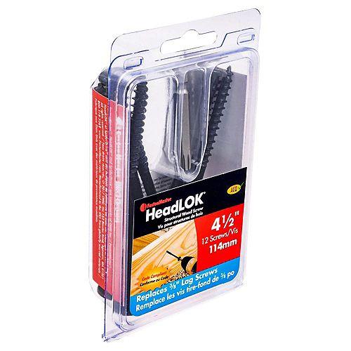 FastenMaster 4-1/2 Inch. Headlok 12-Piece