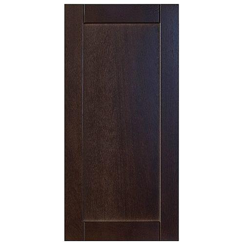 Wood Door Barcelona 15 x 30 1/8 Choco