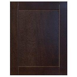 Wood Door Barcelona 17 3/4 x 22 1/2 Choco