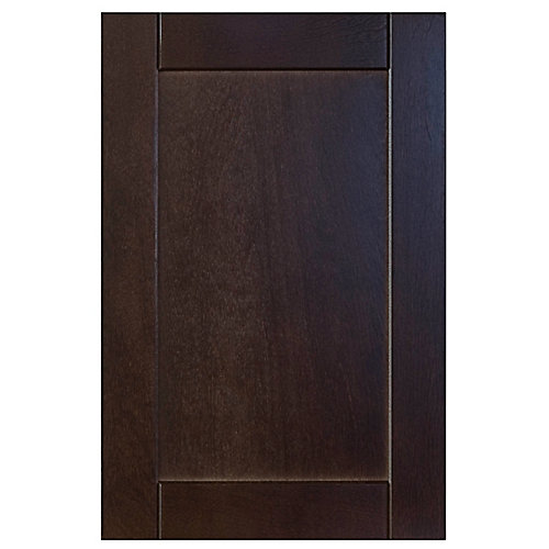 Wood Door Barcelona 15 x 22 1/2 Choco