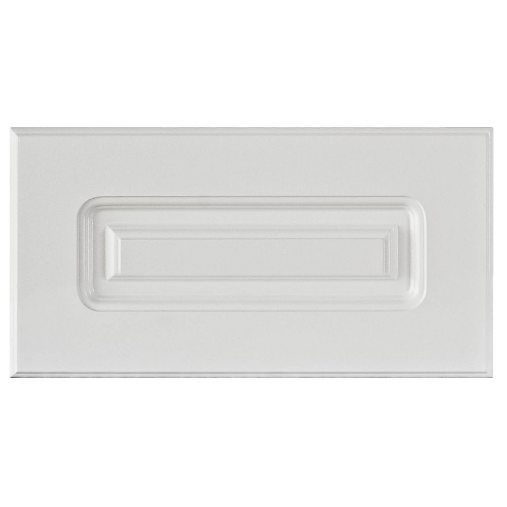 Eurostyle Thermo Drawer front Lausanne 9 x 9 9/9 White   The Home ...