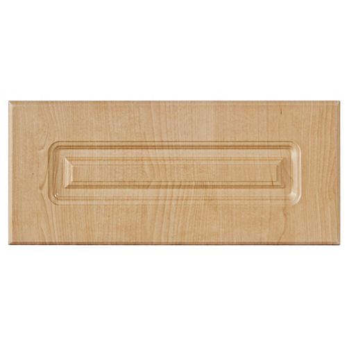 Thermo Drawer front Belfast 17 3/4 x 7 1/2 Maple