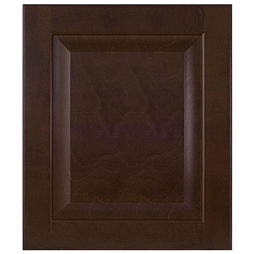 Wood Door Naples 15 x 17 1/2 Choco