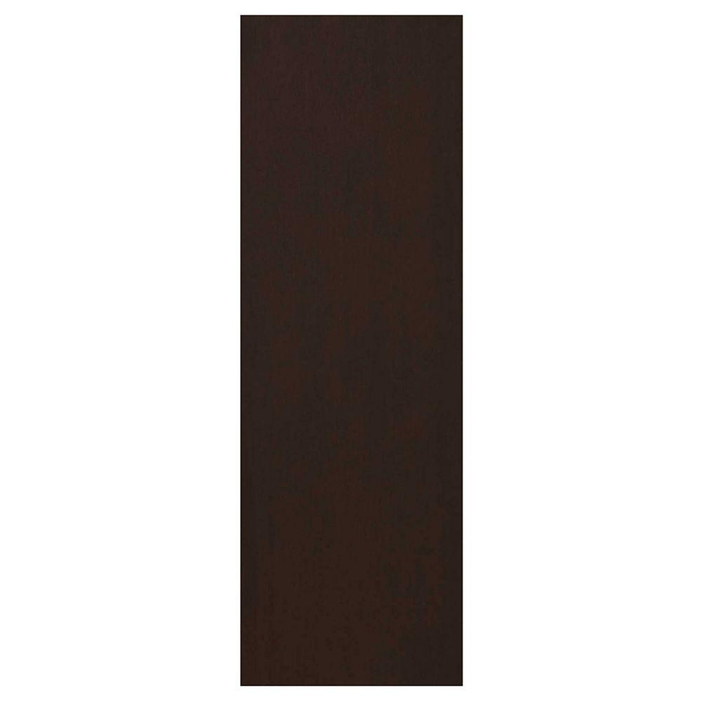 Eurostyle Finishing Panel 30 1/4 x 91 1/4 Veneer Choco