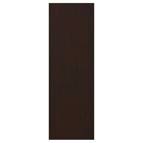 Finishing Panel 30 1/4 x 91 1/4 Veneer Choco