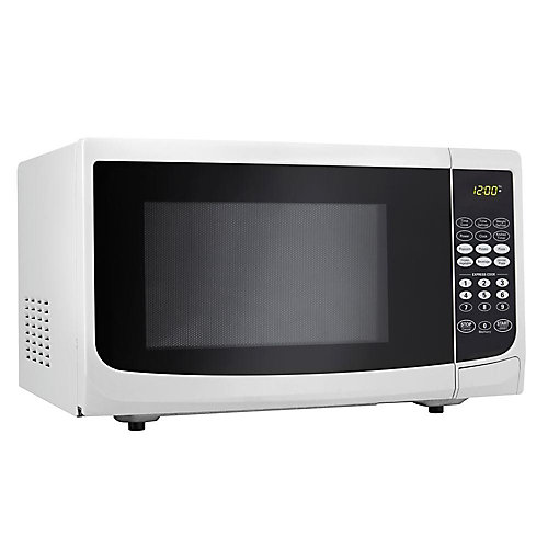 0.7 cu. ft. White Microwave