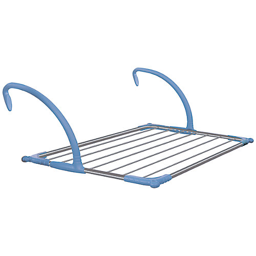 Indoor-Outdoor Deluxe Handrail Drying Rack