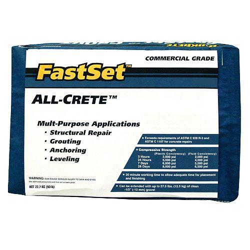 Quikrete FastSet All-Crete 22.7kg