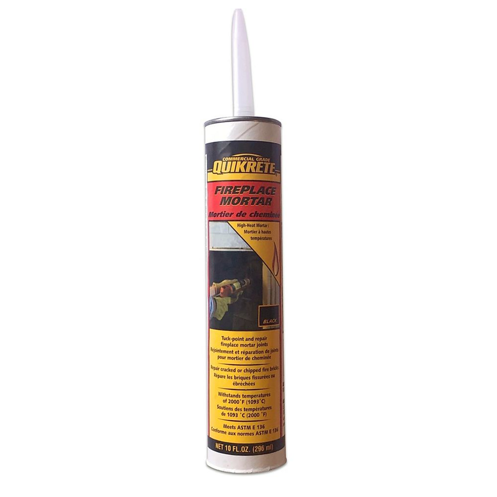 Quikrete Mortier haute température pour foyer 296ml