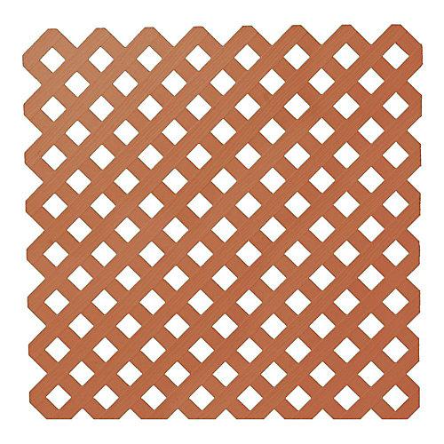 48 pi x 8 pi Trellis de Plastique de Séquoia