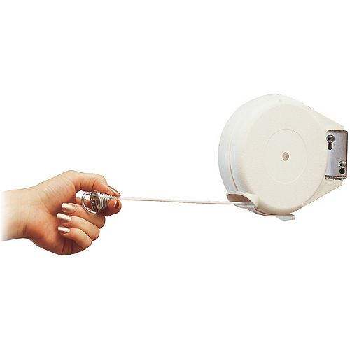 Reel Easy Dryer Indoor/Outdoor 1 Line Clothesline