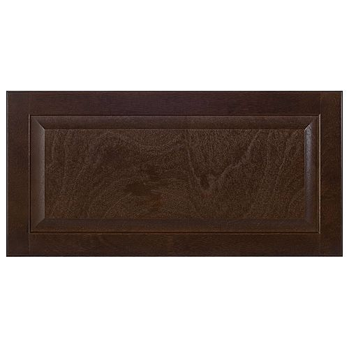 Wood Drawer front Naples 30 x 15 Choco
