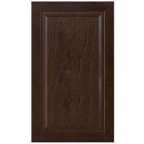 Wood Door Naples 17 3/4 x 30 1/8 Choco