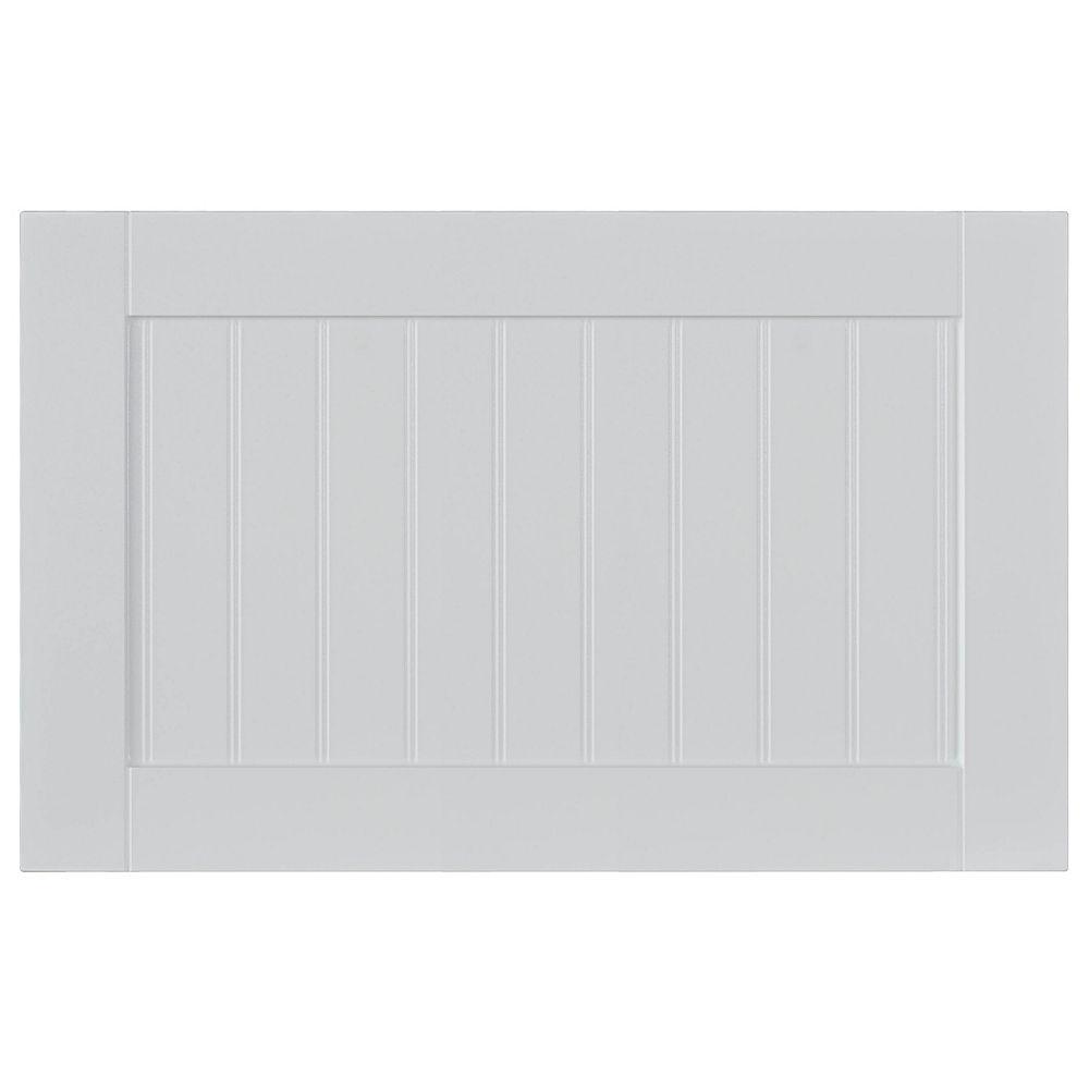 Eurostyle Façade Tiroir Thermo Odessa 23 3/4 x 15 Blanc