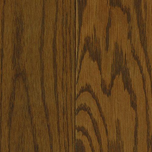 Échantillon - Plancher, bois massif, 4 po x 8 po, chêne Paramount cognac