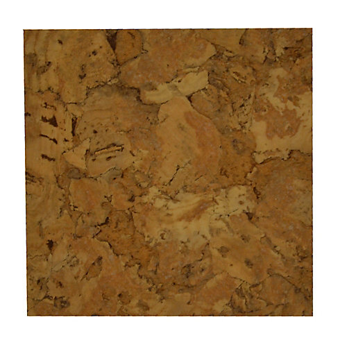 Lisbon Cork Light - Flooring Sample 4 Inch x 8 Inch