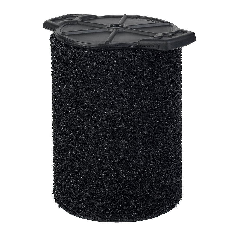 RIDGID Filtre pour ramassage de débris humides pour les aspirateurs sec/humide 18,9 l (5 gal.) et plus