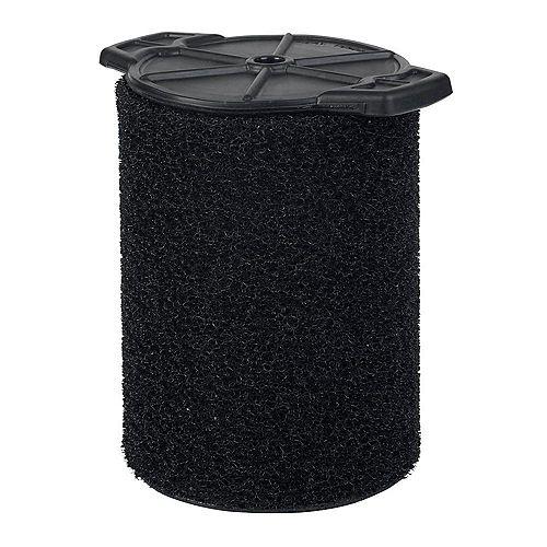 Filtre pour ramassage de débris humides pour les aspirateurs sec/humide 18,9 l (5 gal.) et plus