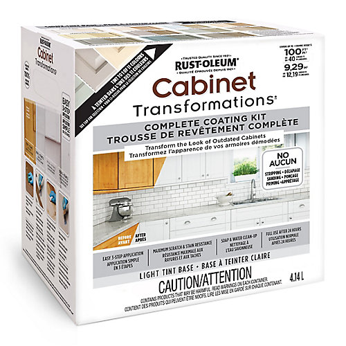 Cabinet Transformations Light Tint Base Kit, 4.14 L (covers up to 100 sq. ft)