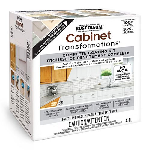 Rust-Oleum Cabinet Transformations Light Tint Base Kit, 4.14 L (covers up to 100 sq. ft)