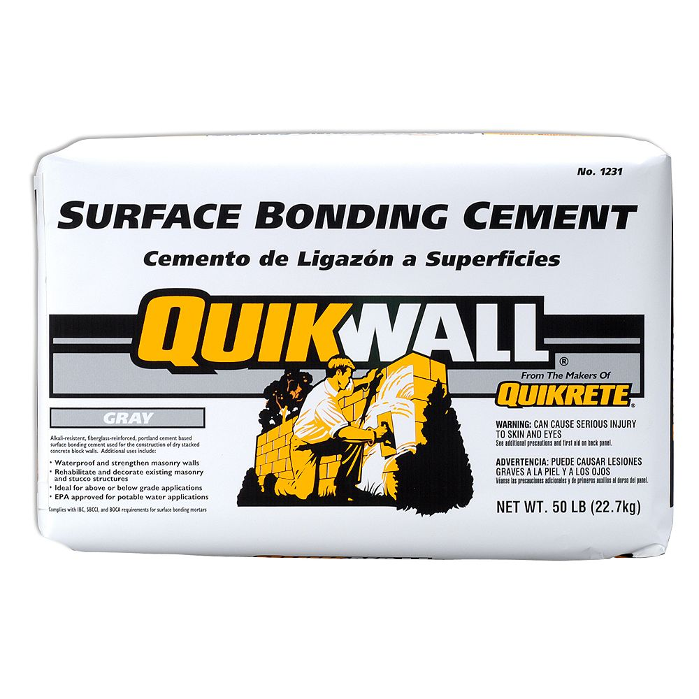 Quikrete QUIKWALL Surface Bonding Cement 22.7kg