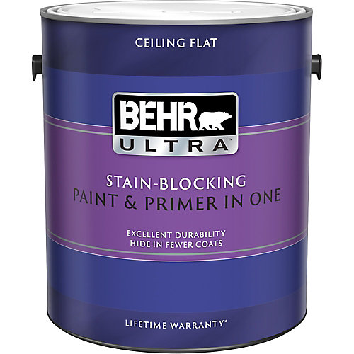 ULTRA Stain Blocking Ceiling Paint, 3.79L