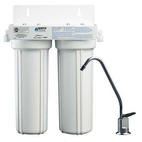 Système de filtration 2 étapes LCV (Plomb, kyste, VOCs)