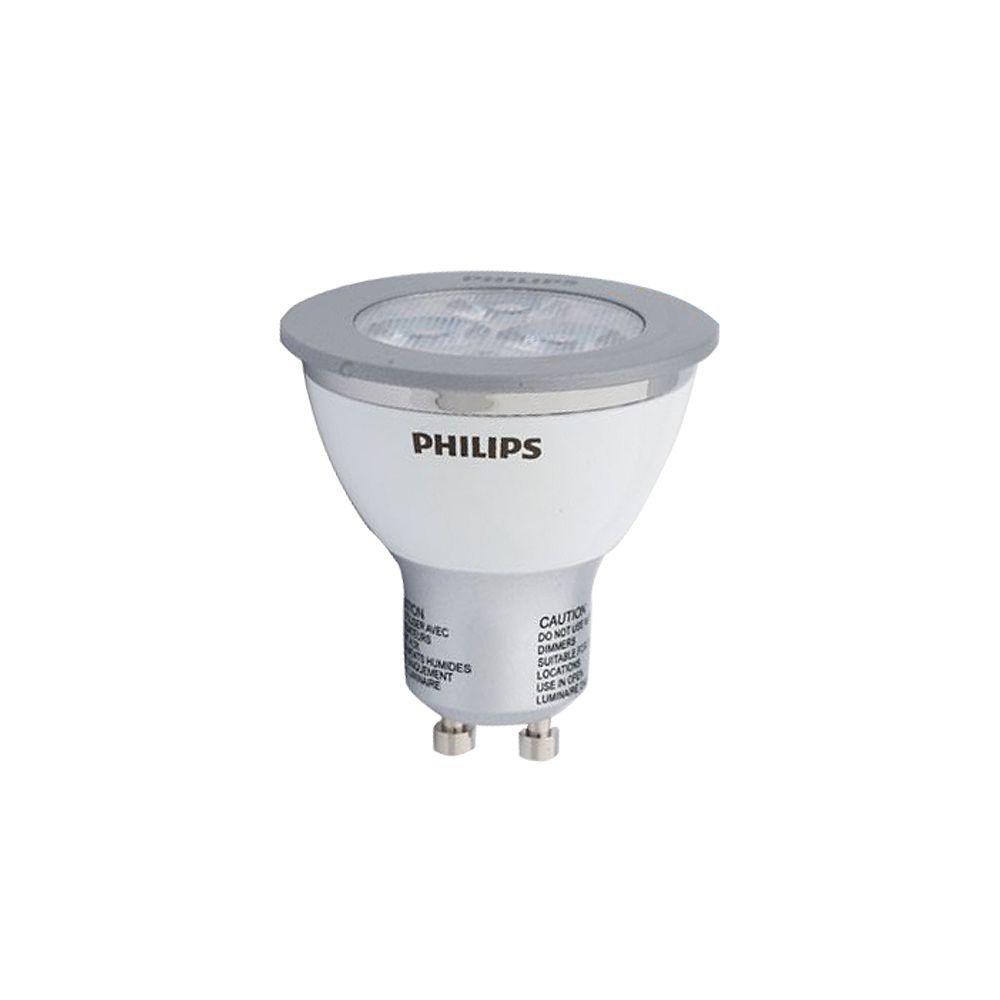 Philips GU10 DEL à faisceau large d'intérieur 4 W