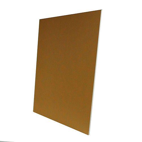 Panneau de construction 1,27cmx 81,28cm 122cm (1/2pox 32pox 48po) Kerdi-Board
