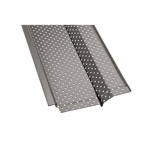 4 ft. Aluminum Gutter Guard (5-Pack)