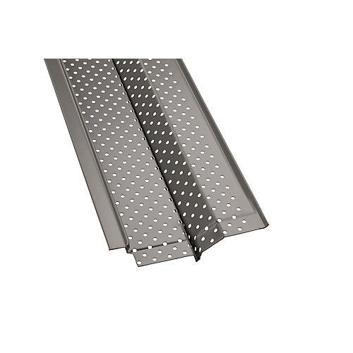4-inch x 4 ft. Aluminum Gutter Guard (5-Pack)