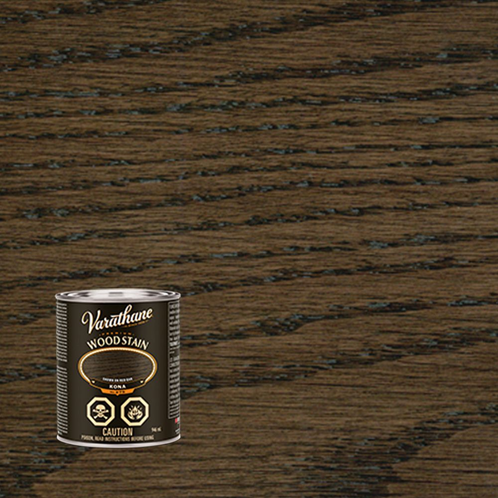 Varathane Premium Oil-Based Interior Wood Stain In Kona, 946 Ml