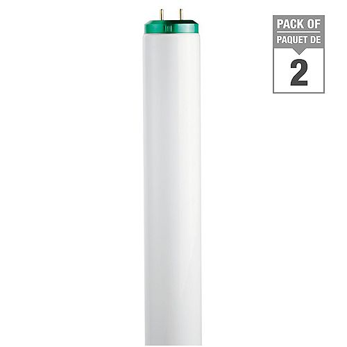 Philips 20W T12 24-inch Cool White (4100K) Fluorescent Light Bulb (2-Pack)