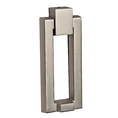 Modern Satin Nickel Door Knocker