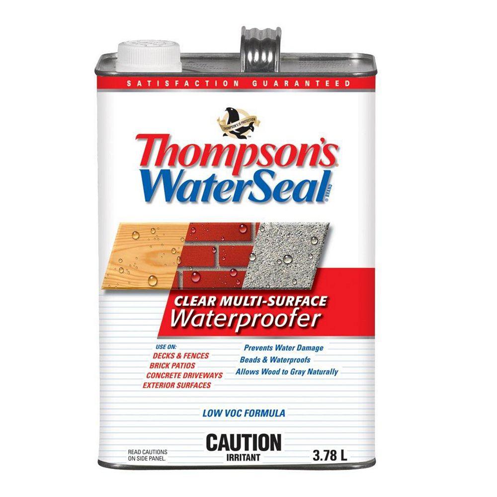 Thompson's WaterSeal Imperméabilisant  transparent pour Surfaces Multiples Thompsons WaterSeal Faible en COV