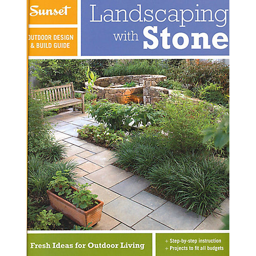 Sunset Landscaping With Stone