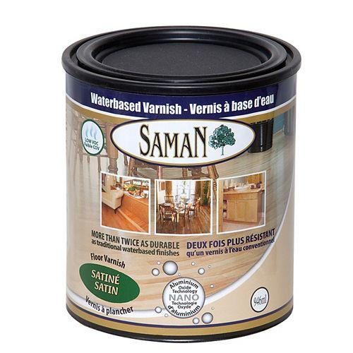 SamaN Water Based Satin Finish 1L