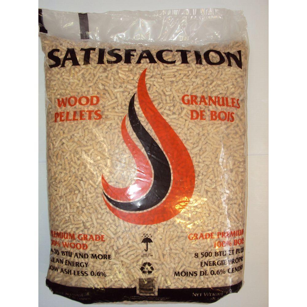 Granules LG Premium Satisfaction 40 lbs. Wood Pellet Fuel