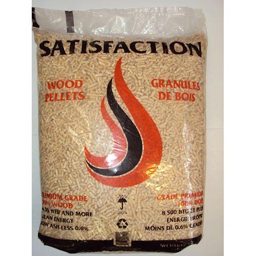 Premium Satisfaction 40 lbs. Wood Pellet Fuel
